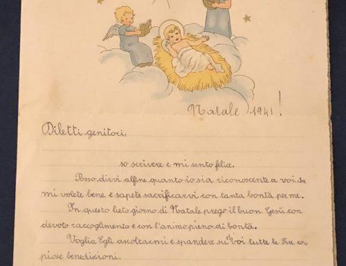 Letterine di Natale in mostra: 'Mamma e babbo carissimi'
