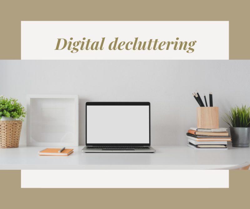 Il digital decluttering personale e professionale: da praticare con continuità
