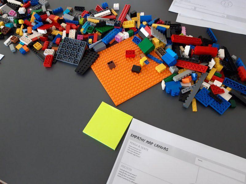 LEGO® SERIOUS PLAY® mattoncini anche per costruire personas
