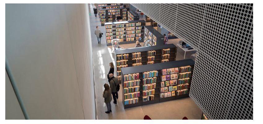 4 spazi della biblioteca + 1: il modello e le  biblioteche scandinave e danesi