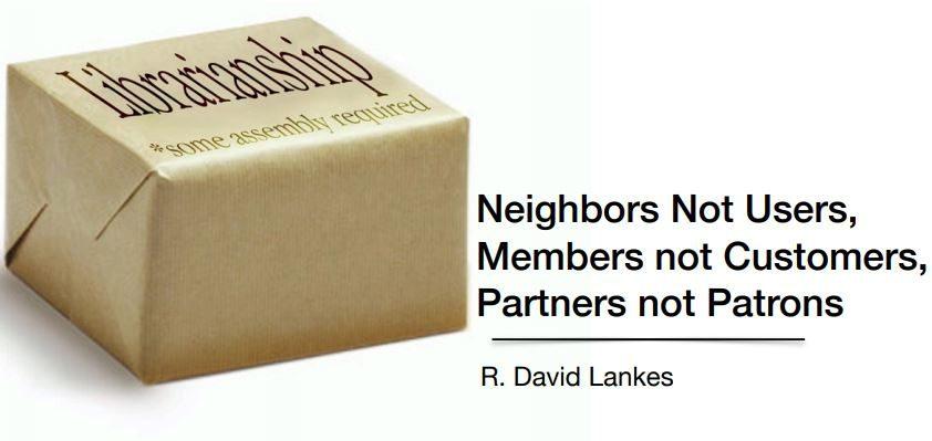 David Lankes: biblioteche come hub di comunità (e non solo)