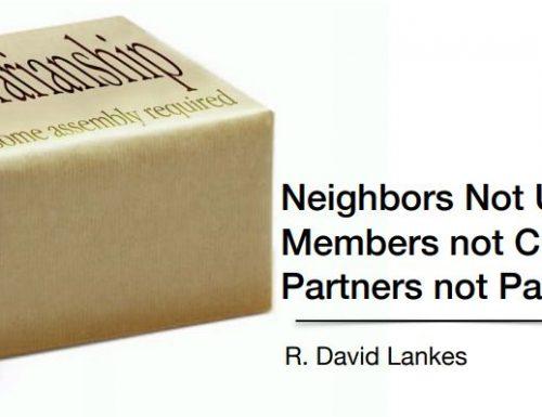David Lankes: biblioteche come hub di comunità ( e non solo)
