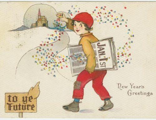 Le cartoline di auguri nelle digital collections della NYPL