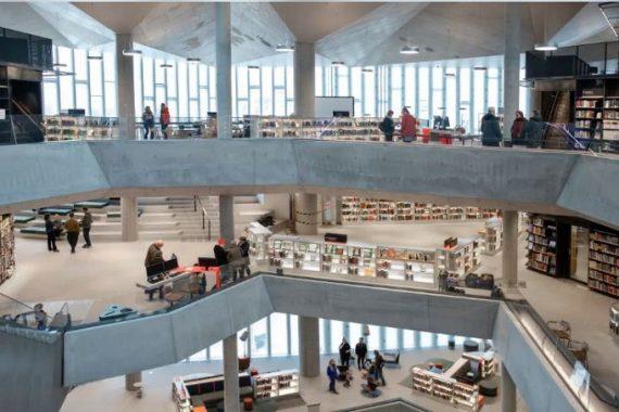 La biblioteca del futuro a OSLO: Deichman Bjørvika